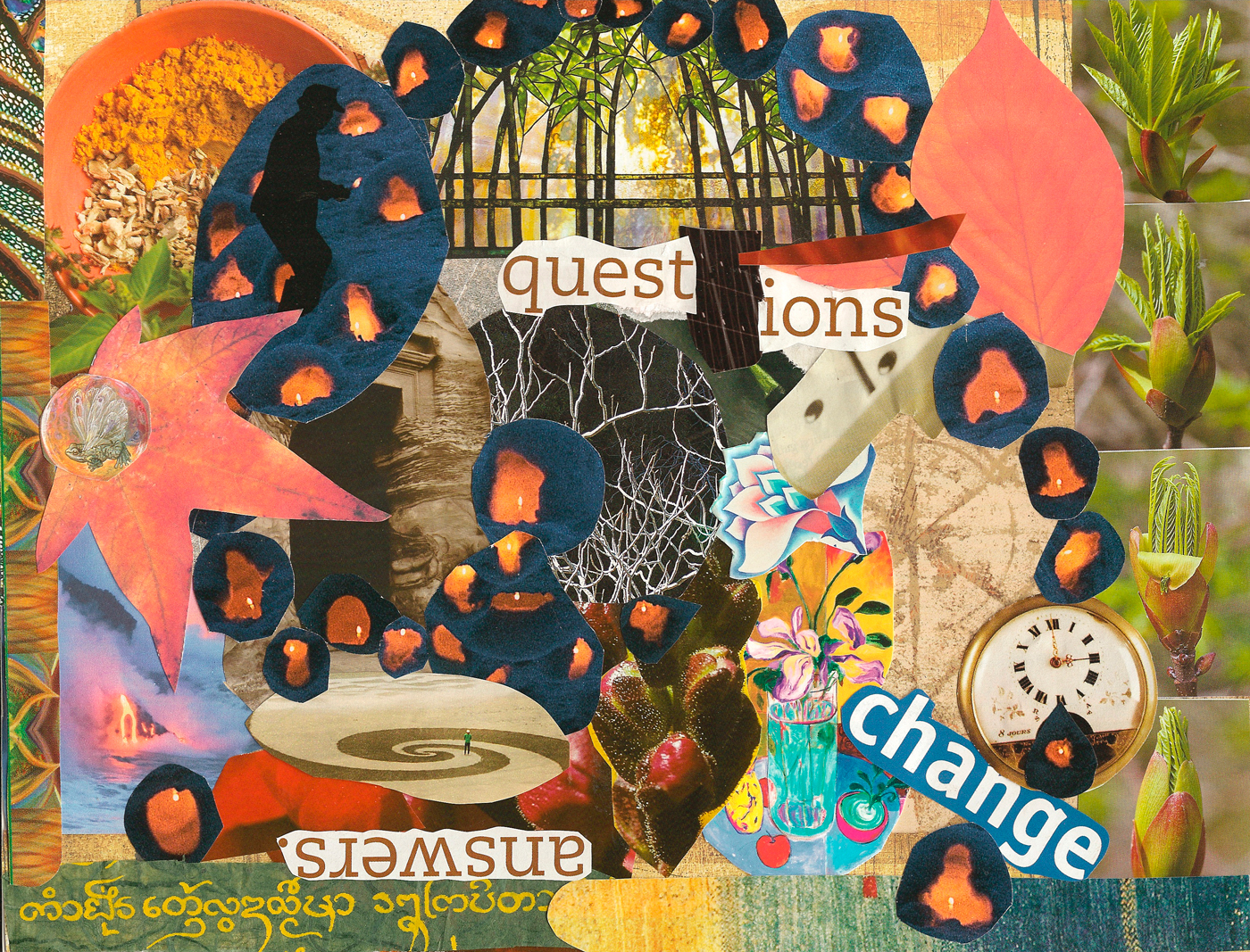 Transitions Collage, New Beginnings