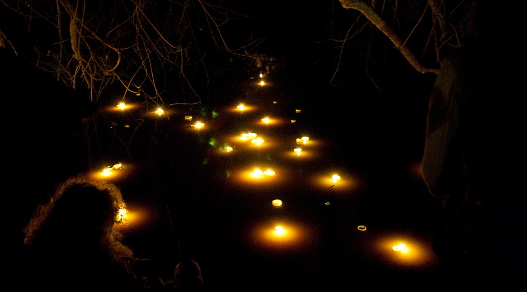 floating oil lamps